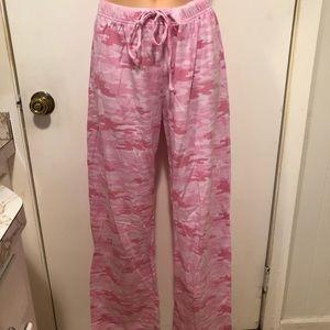 Other - Pink Camo Pajama Pants
